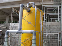 Erection of Electrochlorination Hypo Tank