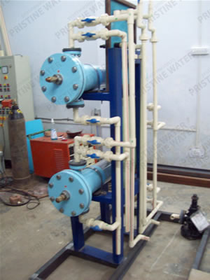 Erection of Electrochlorination Pumps